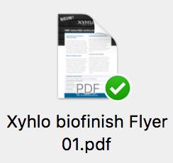 Xyhlo biofinish flyer 01