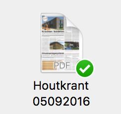 Xyhlo biofinish houtkrant 15-2016